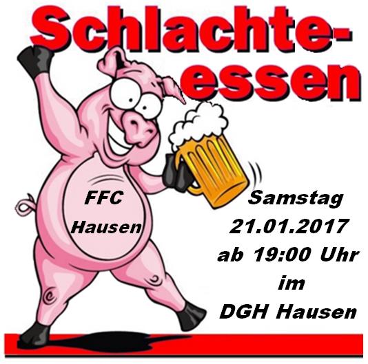 FFC-Schlachteessen