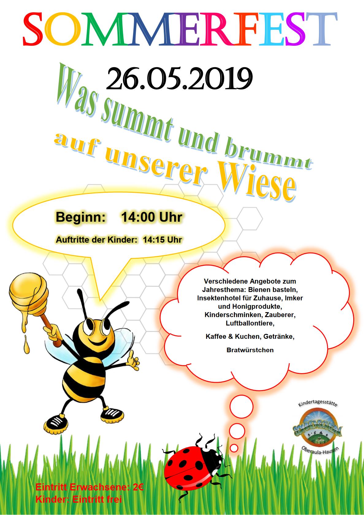 KitaSonnenschein-Sommerfest2019